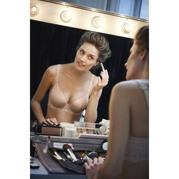 Simone Perele Caressence Spacer 3D T-Shirt BH skin-rose