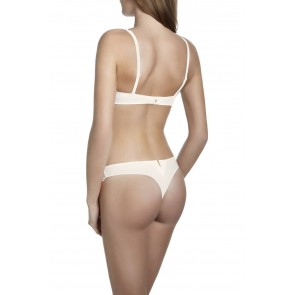 Simone Perele Saga String naturel